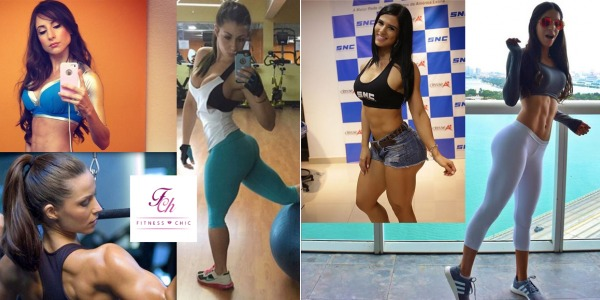 Las 5 fitnessgirls más influyentes de Internet